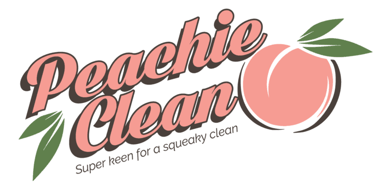 Peachie Clean Hobart Commercial Cleaners logo
